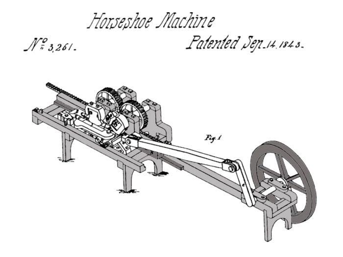 Henry Burden Horseshoe Machine