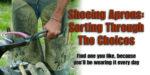 Shoeing Apron
