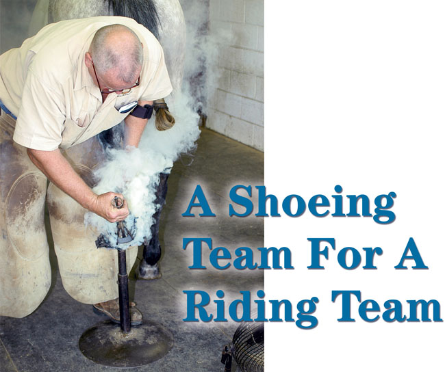 A Shoeing Team