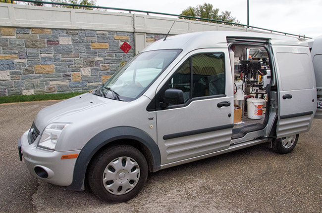 Pay My Ford Bill >> Small Van Gains Favor With Farrier | ePublishing