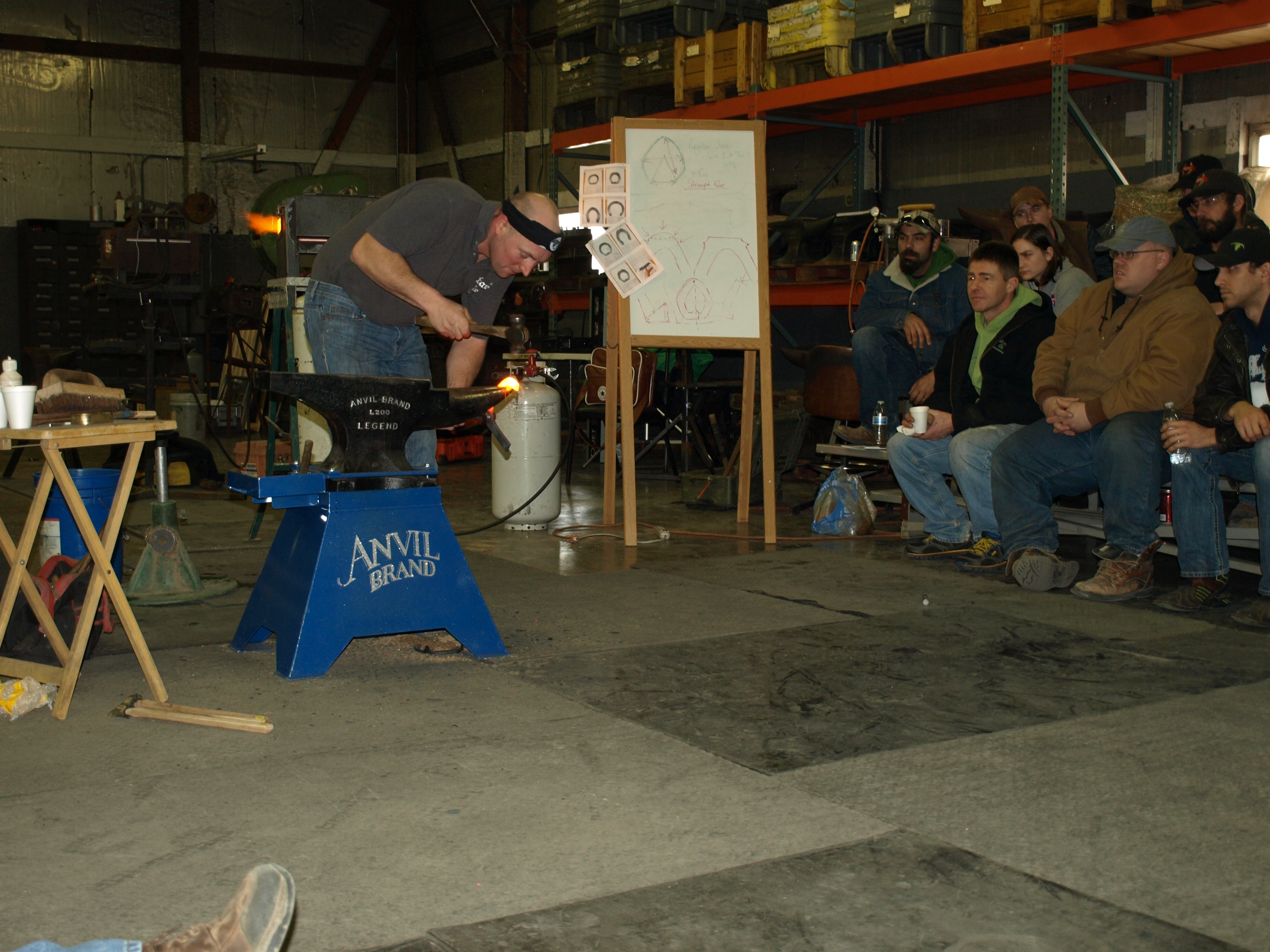 Winter Anvil Brand Clinic With Steven Beane | American Farriers Journal