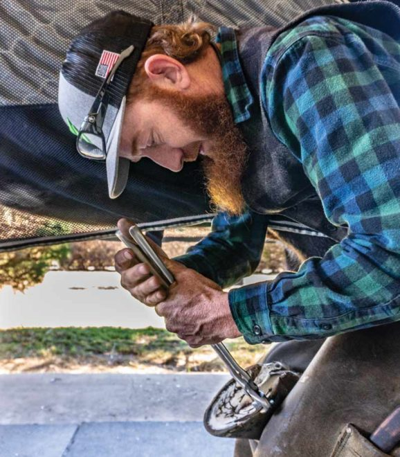 Shoeing Sport Horses with Ty Garner
