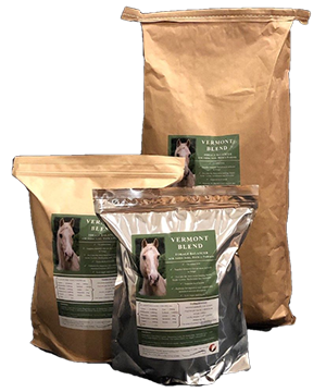 Vermont Blend Hoof Supplement and Forage Balancer, by Custom Equine Nutrition