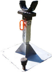 Nu-vizions Farrier Tools Hoof Stand Stall Jack_0121 copy