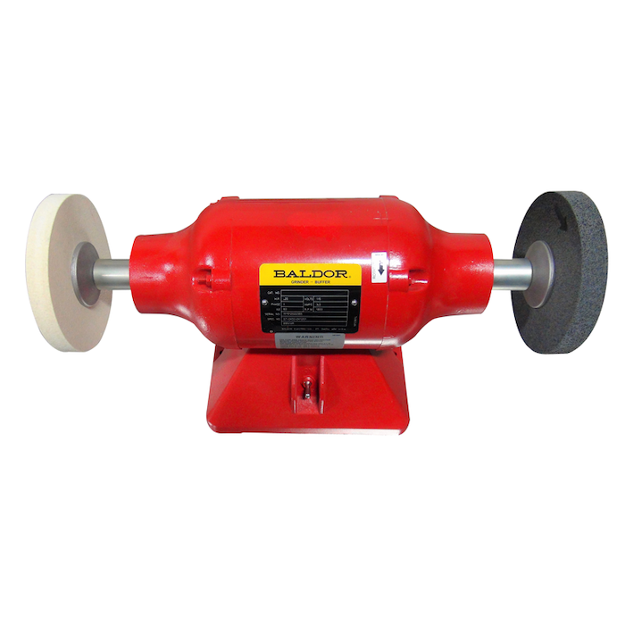 Farrier Product Distribution Inc. Baldor 1/4-hp Buffer (Red)_0620 copy