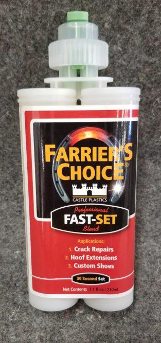 Castle Plastics Inc. Farriers Choice Fast-Set Adhesive_0319 copy