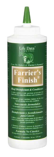 Life Data Labs Inc. Farriers Finish Non-Caustic Hoof Disinfectant and Conditioner _0319