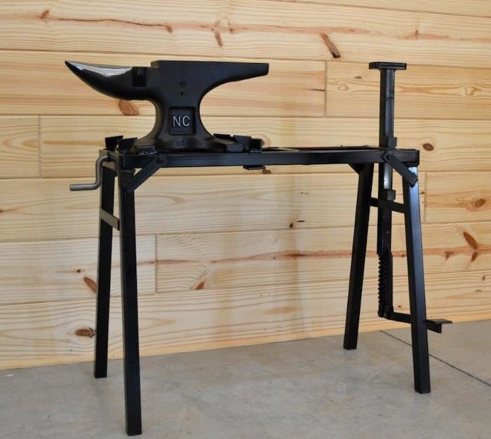 NC Tool Co. Inc. Folding Anvil Stand_1120 copy