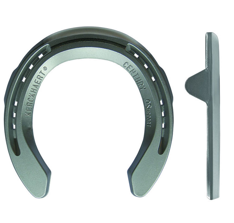 Farrier Product Distribution Kerckhaert Century Support Clipped Size 4 Horseshoe_1218