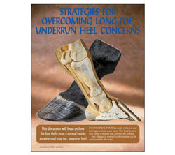 Strategies For Overcoming Long-Toe, Underrun-Heel Concerns