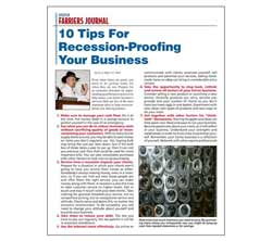 10 Tips For Recession-Proofing Your Business- Download