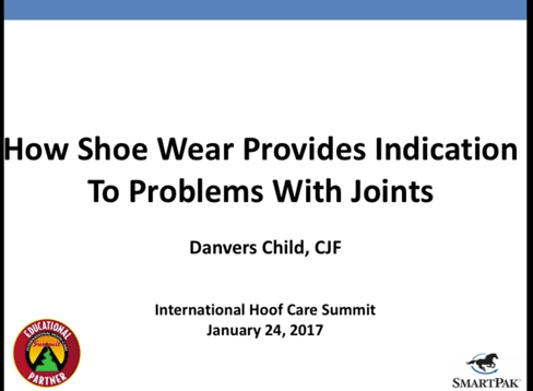 SmartPak How-To Clinic: How Shoe Wear Provides Indication Of Problems With Joints