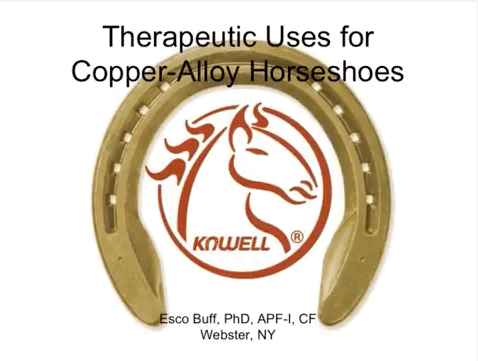 Kawell How-To Clinic: Therapeutic Uses For Copper Alloy Shoes
