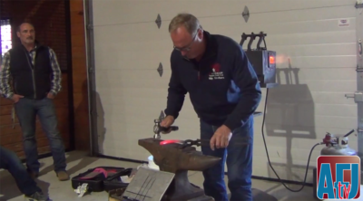 How To: Forging a Hind Shoe with Billy Crothers