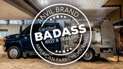 Badass Rigs and Trailers: Shoeing Saddlebreds