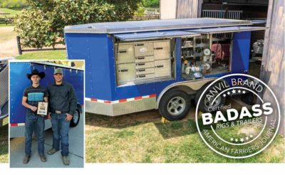 Texas FFA Students Made Farrier's Horseshoeing Trailer