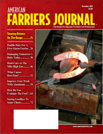 December 2012 American Farriers Journal
